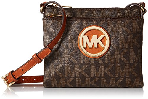 Michael Kors PVC Fulton Large Crossbody