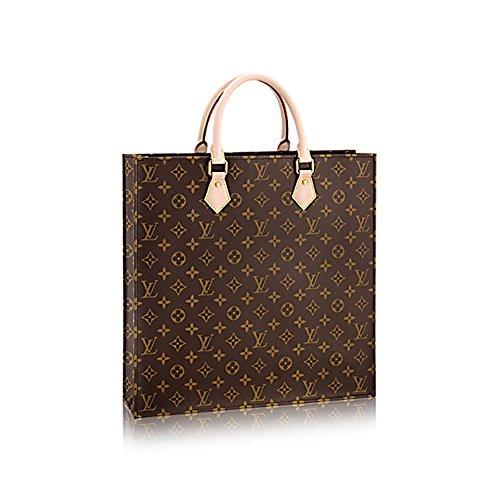 Authentic Louis Vuittom Monogram Canvas Sac Plat NM Tote Multifunction Bag Handbag Article: M40805