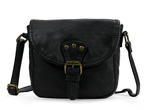Scarleton Mini Accent Belt Flap Crossbody Bag H1816