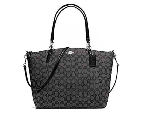 Coach Outline Signature J Kelsey Satchel