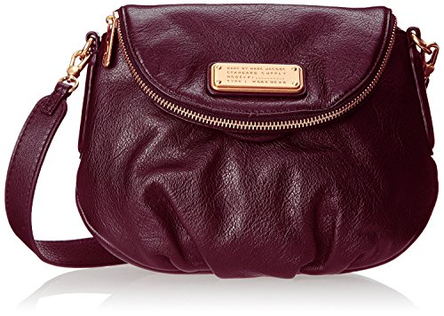 New! Marc Jacobs New Q Natasha Leather Crossbody Bag