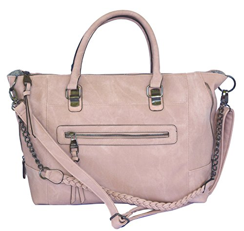 Steve Madden DT Blush Tote Crossbody Bag Handbag Purse