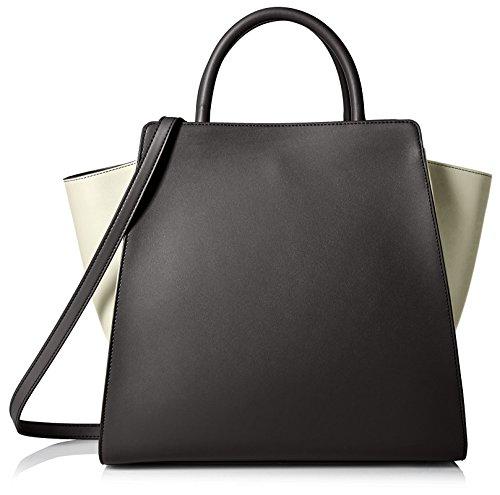 ZAC Zac Posen Women's Eartha North/South Shopper Bag in Color-Block Patent