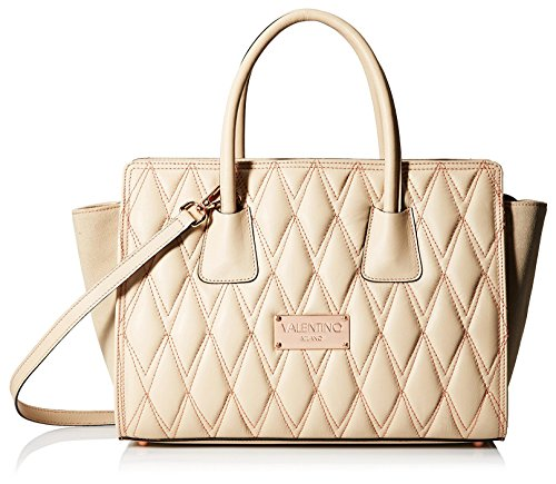 Valentino Bags by Mario Valentino Women's Kiria D Satchel, Cappuccino