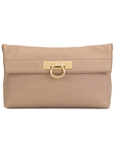 "Salvatore Ferragamo ""May"" Clutch Bag"