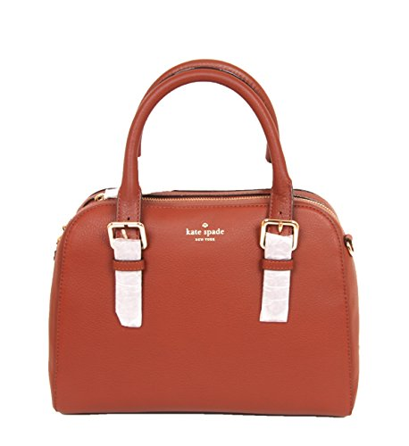 Kate Spade New York Brighton Park Small Felix leather Satchel with Removable Cross-Body Strap