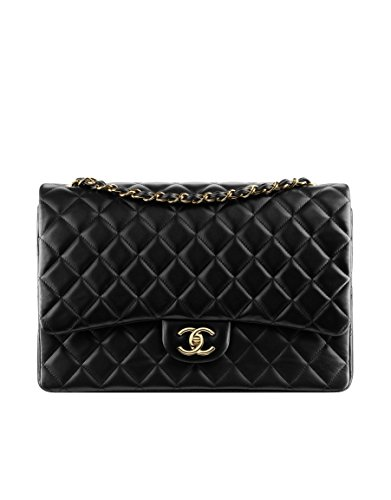 CHANEL Large Classic Flap Bag Gold Metal A58601 Y01295 C3906