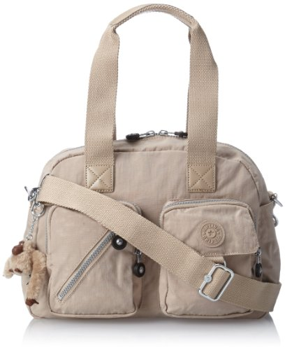 Kipling Defea Medium Handbag, Café Latte