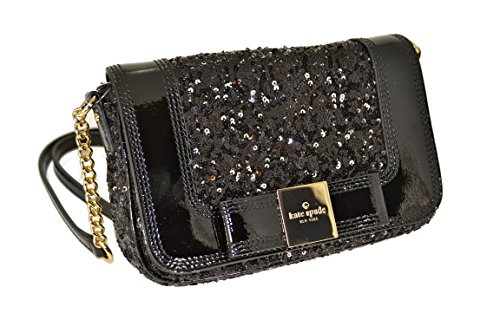 Kate Spade Primrose Hill Sequin Little Kaelin Crossbody Bag, Black
