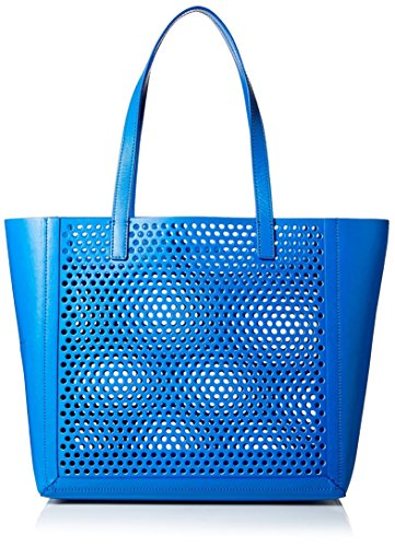 Loeffler Randall Women's Double Handle Open Tote, Electric Blue