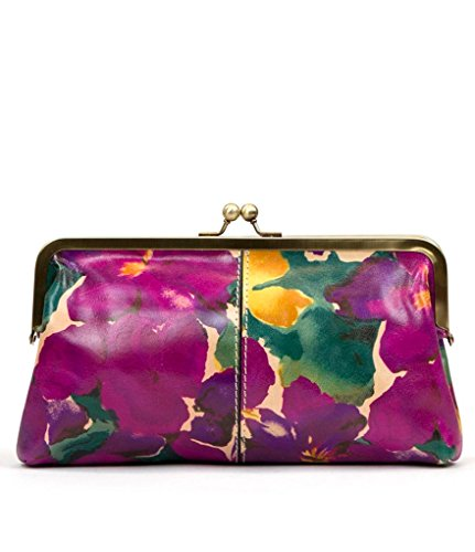 Patricia Nash Women's Potenaz Frame Clutch Shoulder Bag Blooming Romance