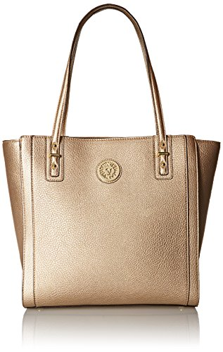Anne Klein Front Runner Large Tote Bag, Gold Dust, One Size