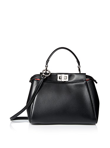 Fendi Women's Handbag Peekaboo, Black
