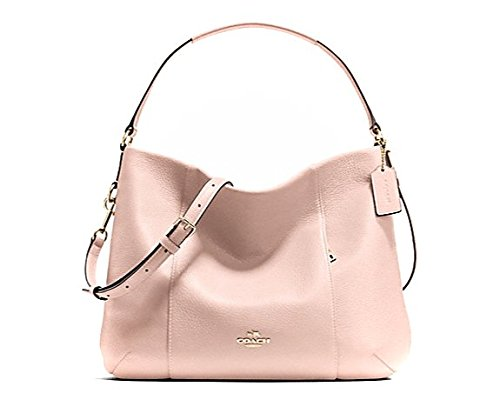 Coach Leather E/W Isabelle Shoulder Bag