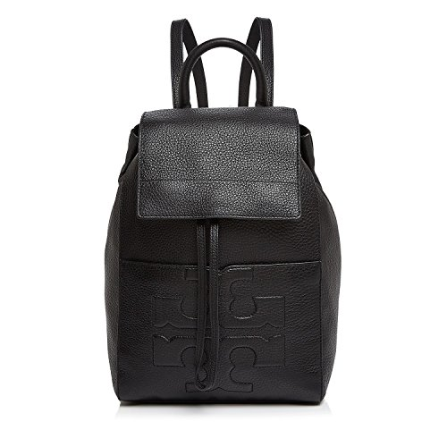 Tory Burch Bombe-T Flap Backpack 21169724-001 Black One Size