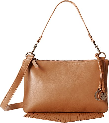 Lucky Brand Women's Bailey Convertible Crossbody Cognac Cross Body