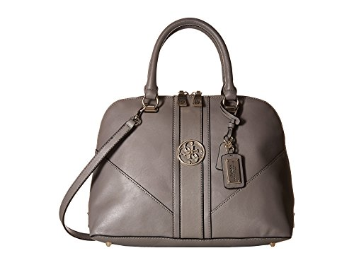 GUESS Women's Lena Large Dome Satchel Smoke Satchel