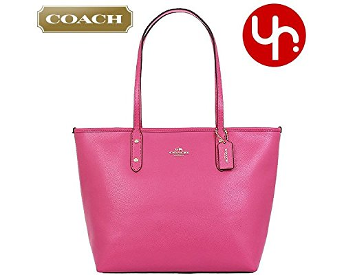 Coach Crossgrain City Zip Tote