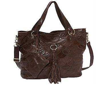AmeriLeather Cherokee Leather Tote – Dark Brown