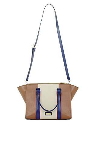 BCBG Max Azria Leather Color Blocked Mini Tote