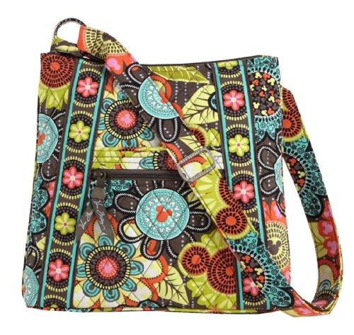 Disney Vera Bradley Perfect Petals Crossbody Hipster Bag