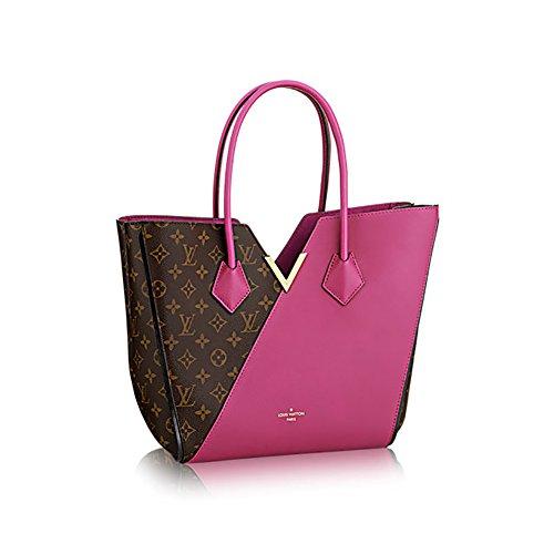 Authentic Louis Vuitton Kimono Tote Monogram Canvas Handbag Article: M40521 Grape Made in France