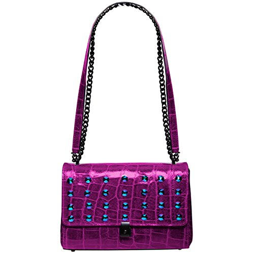 Eric Javits Designer – Luxury Women's Regine Handbag (Violet)
