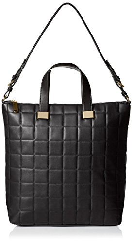 Steve Madden Women's Bree Quilted Tote, Black