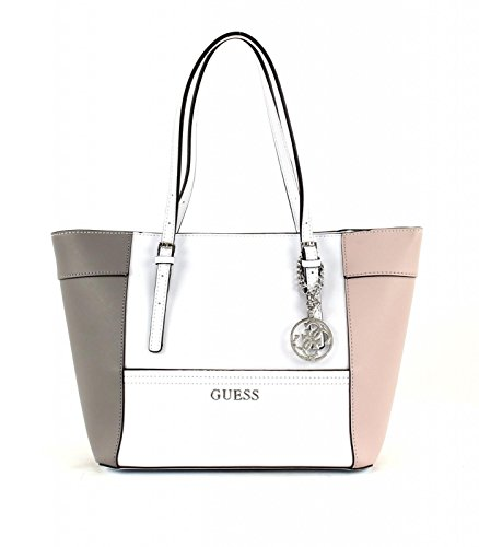Guess Delaney Small Classic Panel Tote Bag, Cloud Multi EY453522