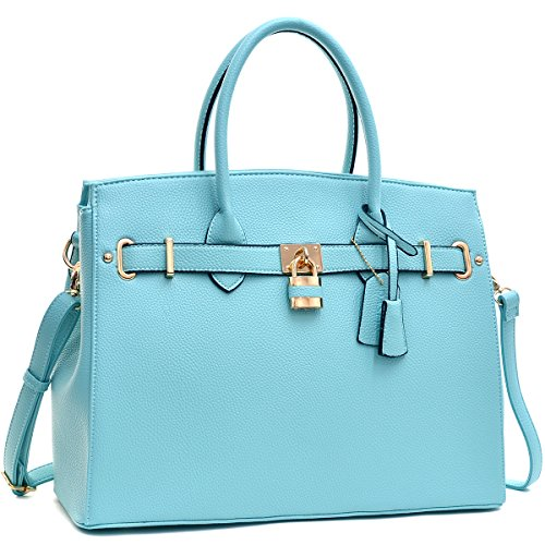MMK Collection Fashion Women Padlock Handbag