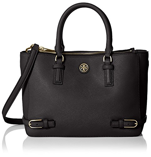 Tory Burch Women's Robinson Small Multi Tote, Black