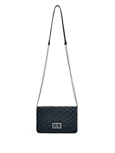 GUESS Women's Crystal River Quilted Cross-Body