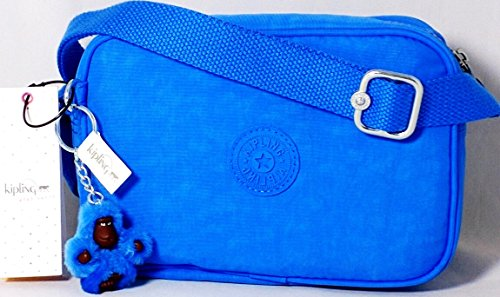 Kipling Dee II Crossbody Small Handbag – Blue Jay (Color 410) – AC7760 – Adjustable Strap