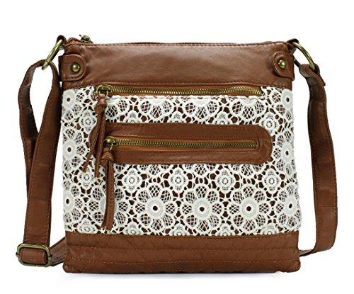 Scarleton Lace Crossbody Bag H1908