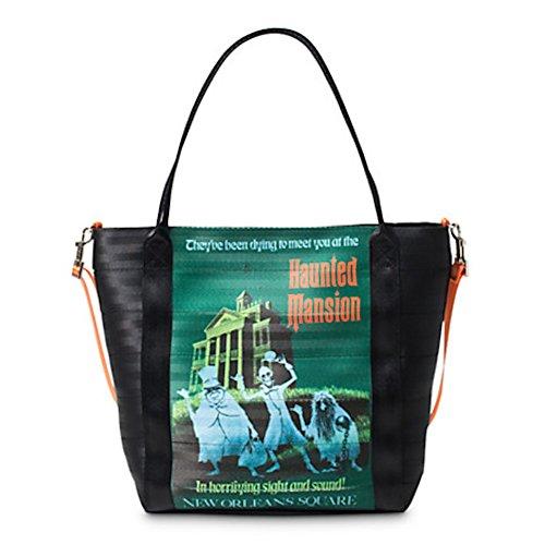 Disney Parks Haunted Mansion Tote Bag Purse By Harveys