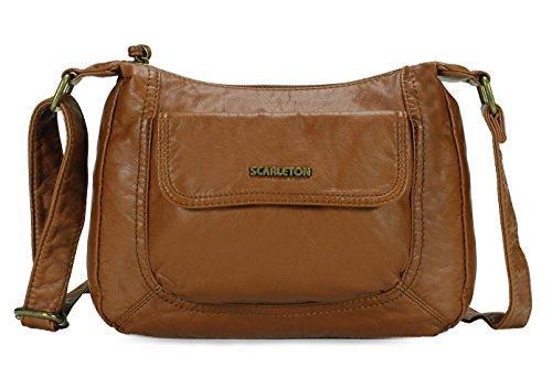 Scarleton Front Flap Crossbody Bag H1925