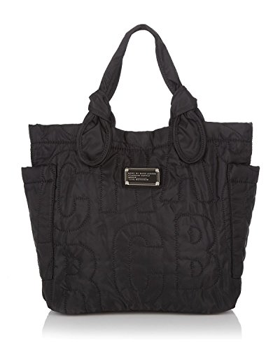 MARC BY MARC JACOBS Women's Pretty Nylon Little Tate Small Quilted Tote in Black