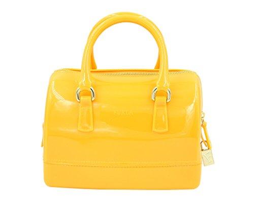 Furla Candy Satchel Handbag in GIALLO