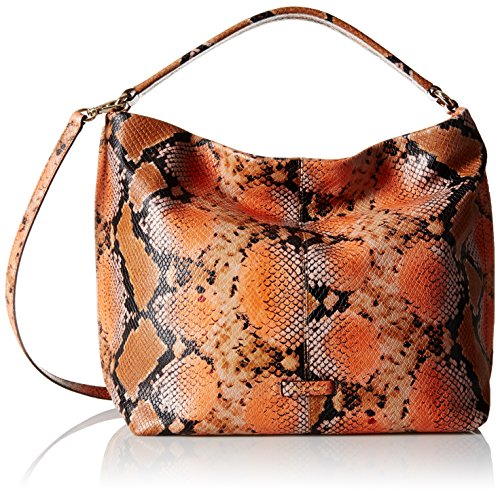 Cole Haan Addey Double-Strap Printed Convertible Hobo Bag