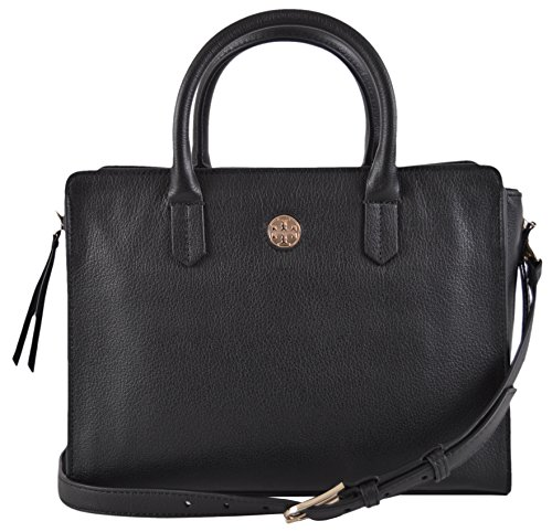 Tory Burch Women's Brody Small Tote, Black