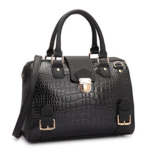 Fashion Satchel handbags with Wristlet wallet (69012828)~Designer Purse for Women ~ Perfect Women Purse and wrist wallet~ Beautiful Designer Handbag Set by MMK Collection Satchel &Briefcase set