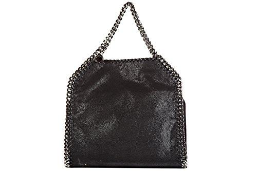 Stella Mccartney women's handbag shopping bag purse mini falabella shaggy deer b