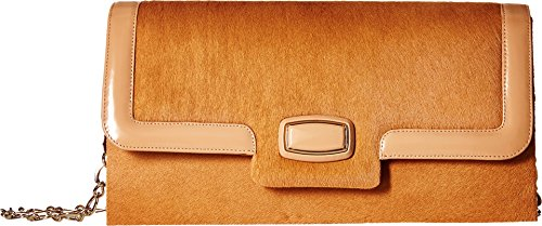 Oscar de la Renta Women's Day To Evening Bisque Pony Clutch