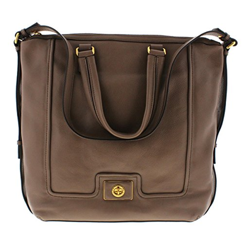 Marc by Marc Jacobs Womens Revolution Op Leather Shopper Tote Handbag