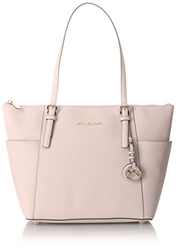 MICHAEL Michael Kors Women's Jet Set Top Zip Tote, Blossom, One Size