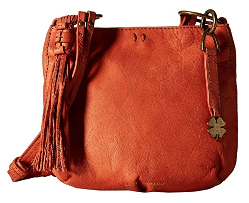 Lucky Brand Athena Crossbody Terracotta Cross Body Handbags