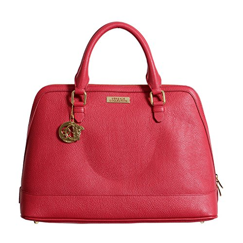 Versace Collection Women's Leather Satchel Handbag Bag
