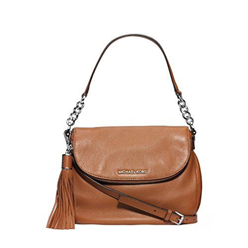 MICHAEL Michael Kors Bedford Medium Convertible Shoulder Bag in Luggage Brown