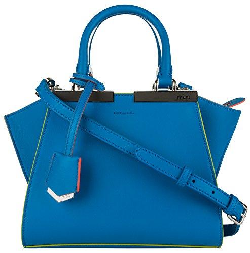 Fendi Mini 3Jours Tote – Blue