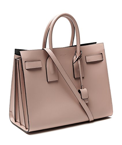 Wiberlux Saint Laurent Women's Real Leather Tote Handbag